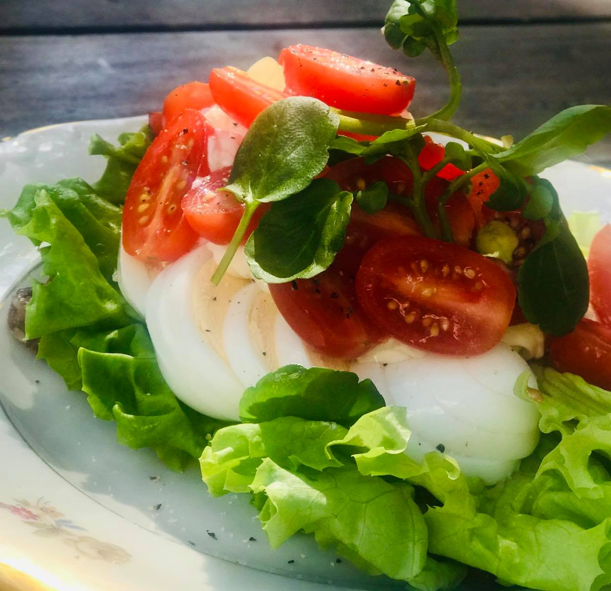 Æg og tomat
